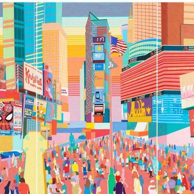 [A0581-0016] NY-Times Square