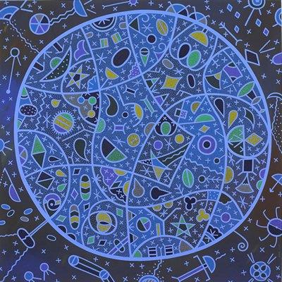 [A0584-0023] 푸른우주