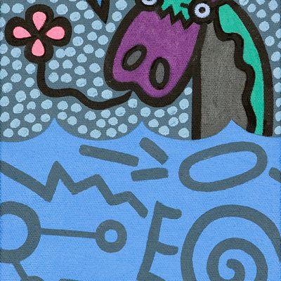 [A0584-0054] 당나귀와문자