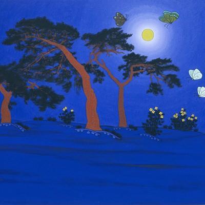 [A0584-0108] 푸른밤