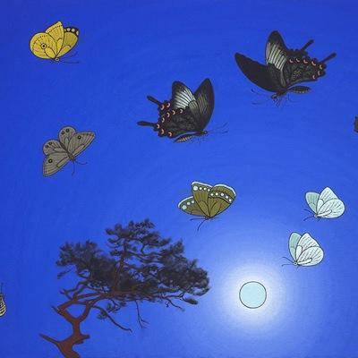 [A0584-0142] 나비들
