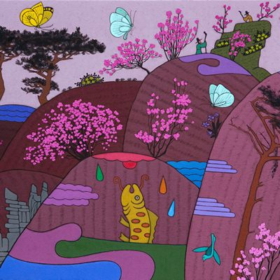 [A0584-0165] 봄나들이