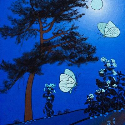 [A0584-0176] 푸른밤