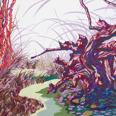 [A0587-0003] 색조,休(휴)의 숲1(Hue Forest1)