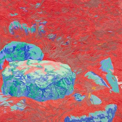[A0587-0010] 바닥의 풍경 '귀뚜라미 소리가 울리는 곳에서 부터'