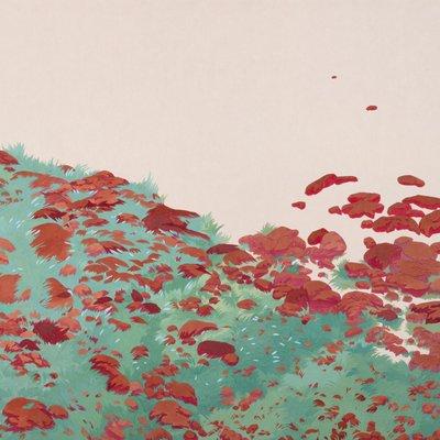[A0587-0015] 바닥의 풍경 '귀뚜라미 소리가 울리는 곳에서 부터'
