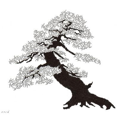 [A0592-0001] 더미 소나무 #3 (Pine Dummy #3)