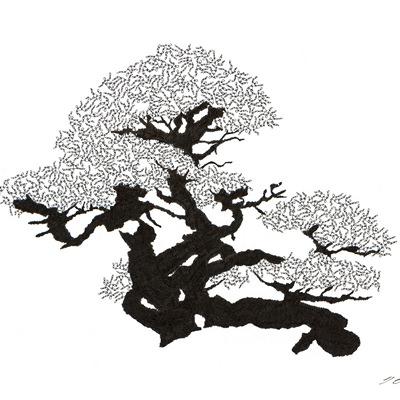 [A0592-0002] 더미 소나무 #35 (Pine Dummy #35)