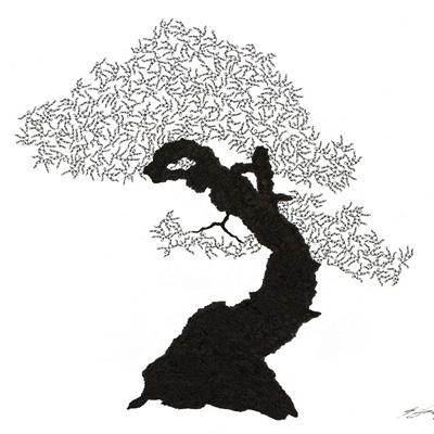 [A0592-0005] 더미 소나무 #38 (Pine Dummy #38)