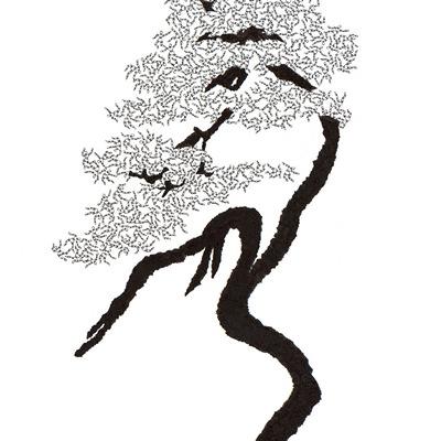 [A0592-0007] 더미 소나무 #40 (Pine Dummy #40)