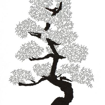 [A0592-0011] 더미 소나무 #59 (Pine Dummy #59)
