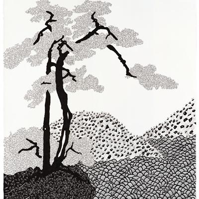 [A0592-0026] 더미 산수화 #3 (Dummy Landscape #3)