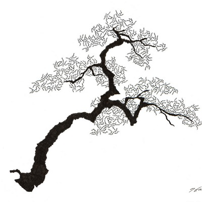 [A0592-0035] 더미 소나무 #9 (Pine Dummy #9)