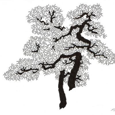[A0592-0036] 더미 소나무 #10 (Pine Dummy #10)