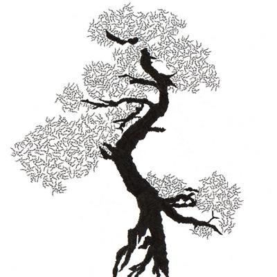 [A0592-0037] 더미 소나무 #13 (Pine Dummy #13)