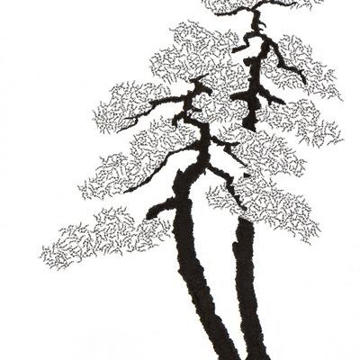 [A0592-0038] 더미 소나무 #14 (Pine Dummy #14)