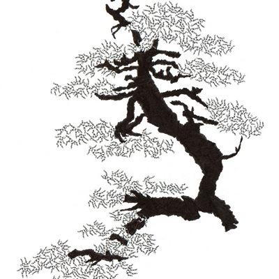 [A0592-0040] 더미 소나무 #21 (Pine Dummy #21)