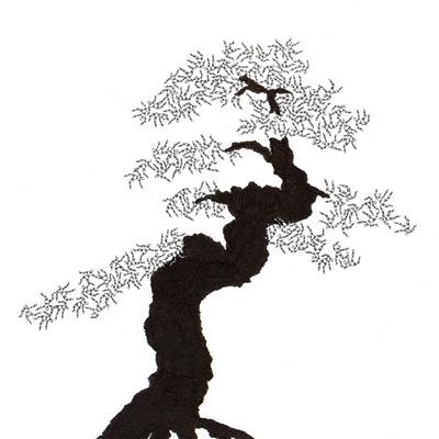 [A0592-0043] 더미 소나무 #24 (Pine Dummy #24)
