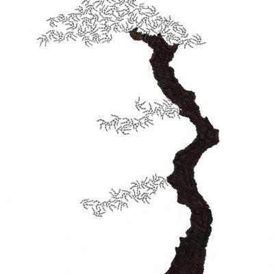 [A0592-0044] 더미 소나무 #26 (Pine Dummy #26)