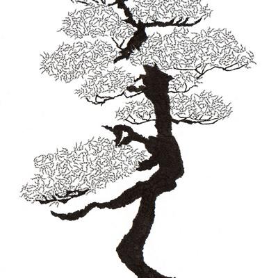 [A0592-0049] 더미 소나무 #32 (Pine Dummy #32)