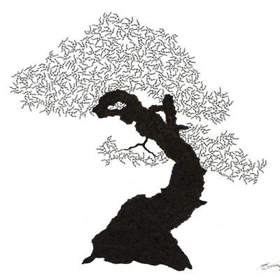 [A0592-0054] 더미 소나무 #38 (Pine Dummy #38)
