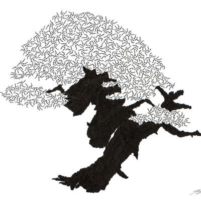 [A0592-0055] 더미 소나무 #39 (Pine Dummy #39)