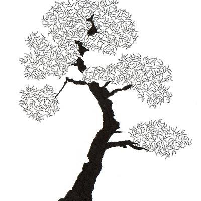 [A0592-0057] 더미 소나무 #41 (Pine Dummy #41)