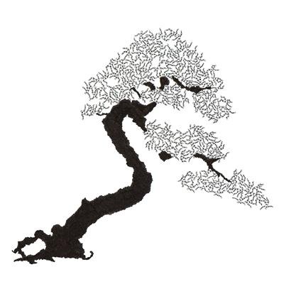 [A0592-0059] 더미 소나무 #44 (Pine Dummy #44)