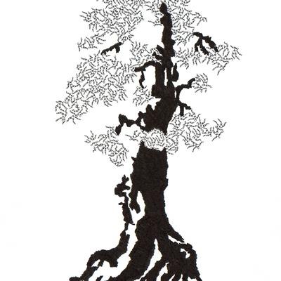 [A0592-0060] 더미 소나무 #46 (Pine Dummy #46)