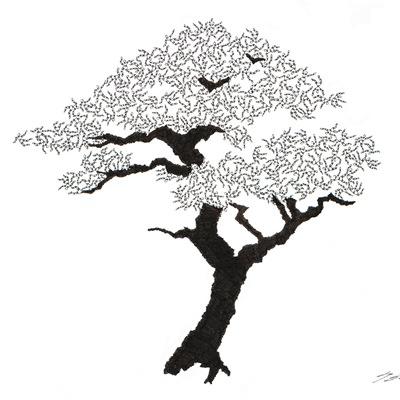 [A0592-0063] 더미 소나무 #52 (Pine Dummy #52)