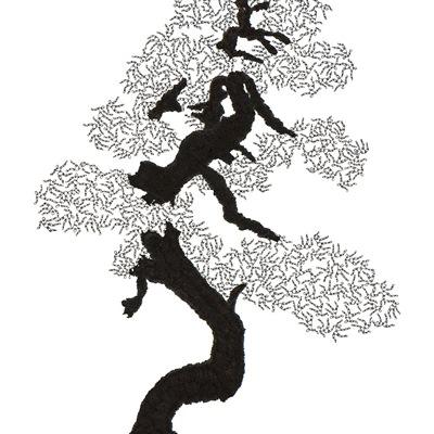 [A0592-0069] 더미 소나무 #61 (Pine Dummy #61)