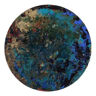 [A0593-0048] 21. Silk Road_ blue
