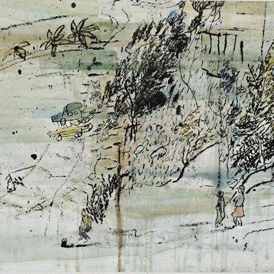[A0596-0015] 풍경