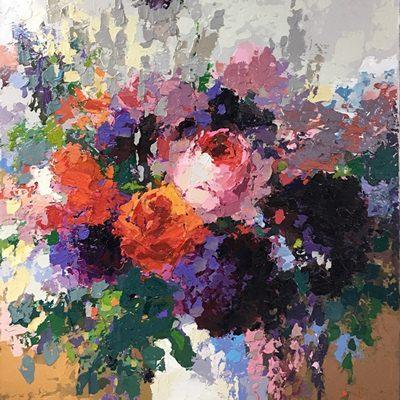 [A0606-0081] 보라빛 꽃