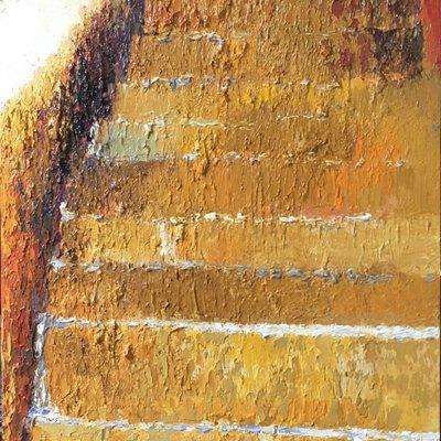 [A0606-0156] 계단위 희망(Blue)