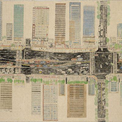 [A0609-0013] 시간을 담은 지도_우성아파트앞사거리2008