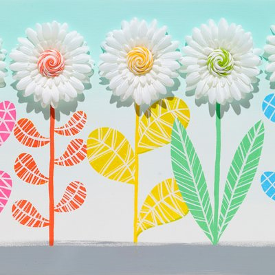 [A0611-0037] 꽃들의 달콤한 변화