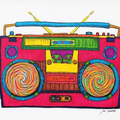 [A0611-0045] 달콤한 라디오