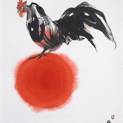 [A0612-0025] 태양을 몰고온 새