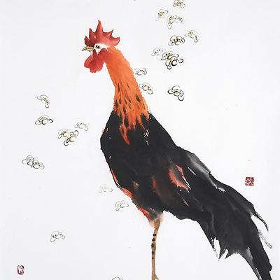 [A0612-0026] 봉황이된 새