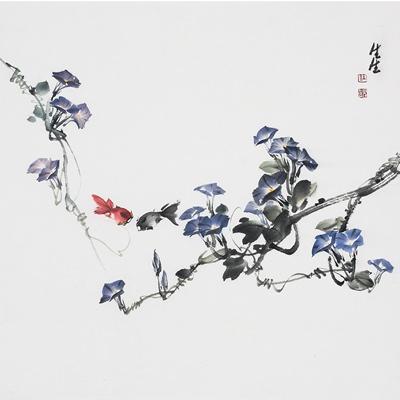[A0612-0031] 호기심-나팔꽃