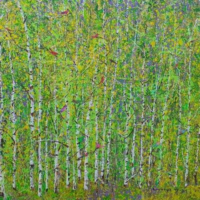 [A0621-0138] 숲에서 노닐다30