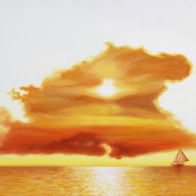[A0624-0002] 생각의 태양 II