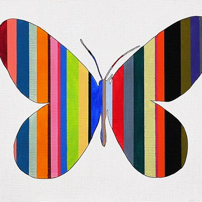[A0632-0031] STRIPE WINGS | 줄무늬 날개