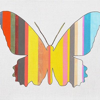 [A0632-0032] STRIPE WINGS | 줄무늬 날개