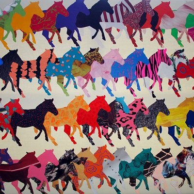 [A0632-0039] RUNNING HORSES | 달리는 말들