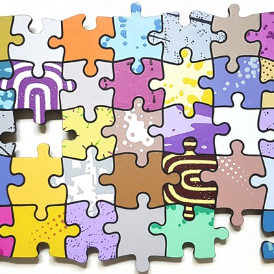 [A0641-0025] PUZZLE