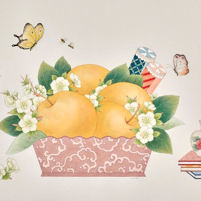 [A0650-0022] Pears