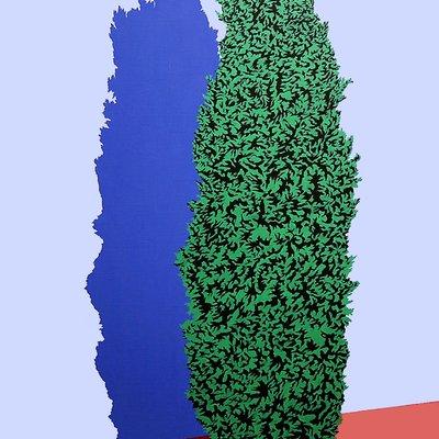 [A0651-0024] Plastic Plant 1