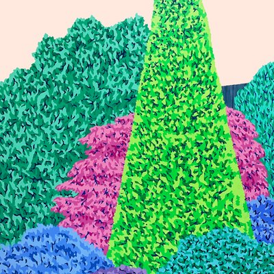 [A0651-0053] 이름 없는 숲 2